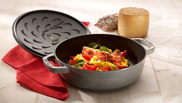 STAUB recipe Piperade