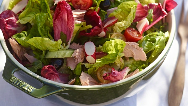 STAUB recipe Summer salad