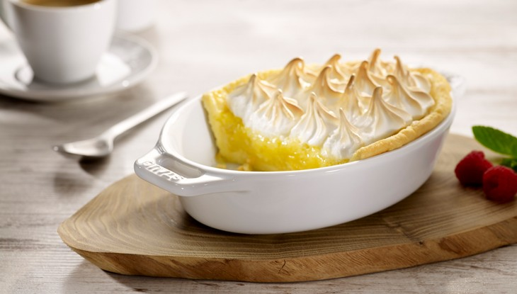STAUB Recipe Lemon tart meringue topping
