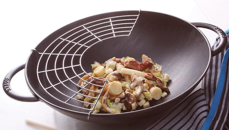 STAUB Rezept Hühnchen Chop Suey
