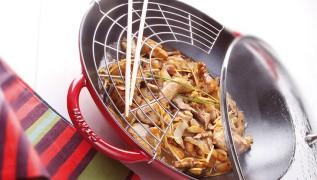 STAUB recipe turkey breast cubes Ginger Sauce