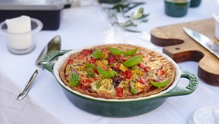 STAUB recipes Summer Tart