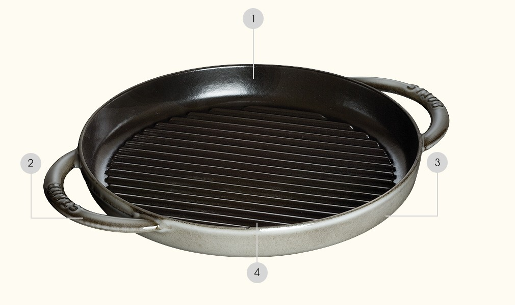 Grill Pans - style accessible and tasty roast!