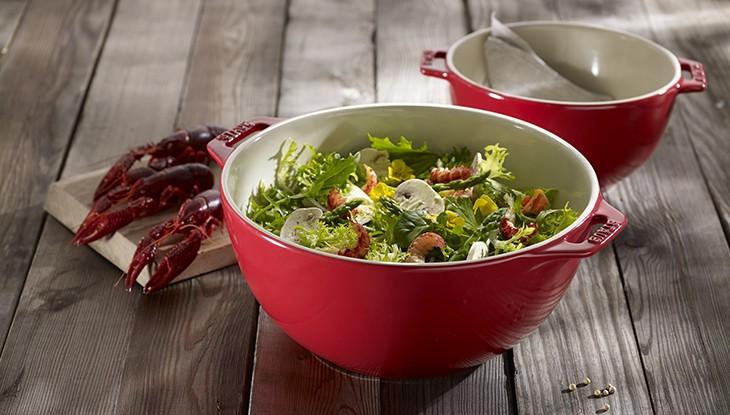 Salatschüssel - Serie Servieren