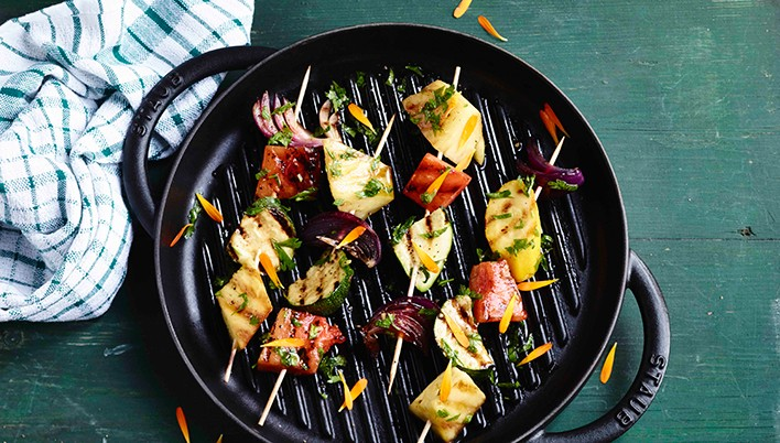 STAUB grill pan - A strong piece