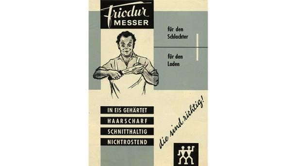 ZWILLING Werbung Friodur Messer
