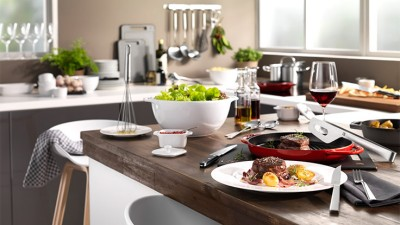 ZWILLING moderne Wohnküche