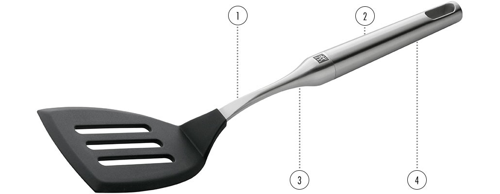 ZWILLING TWIN Pure Steel Küchenhelfer Details