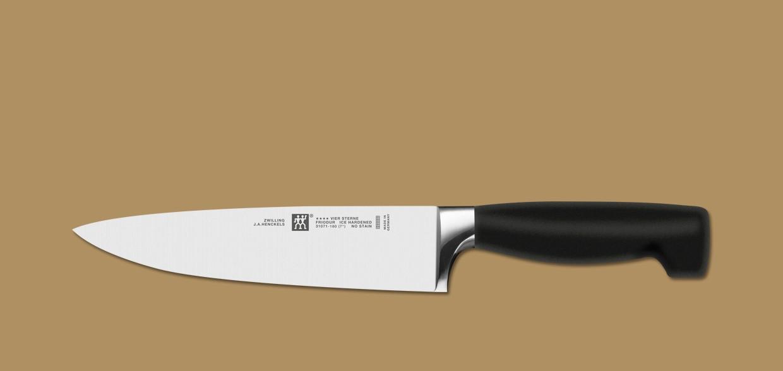 40 Jahre - ZWILLING Vier Sterne Messer
