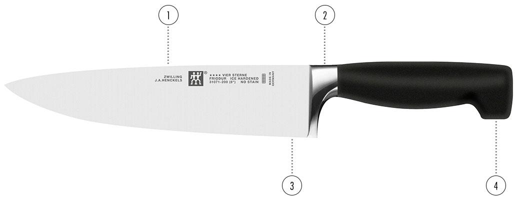 cuchillos ZWILLING Four Star