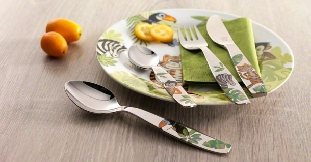 Zwilling kids flatware Jungle