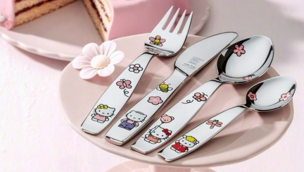 Couverts - Zwilling enfants Hello Kitty