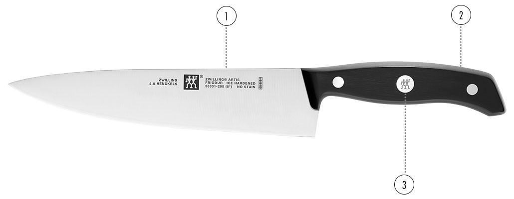 Couteaux - ZWILLING Artis détails
