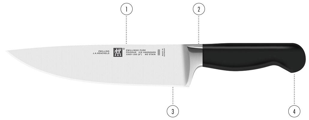 Couteaux - ZWILLING Pure détails