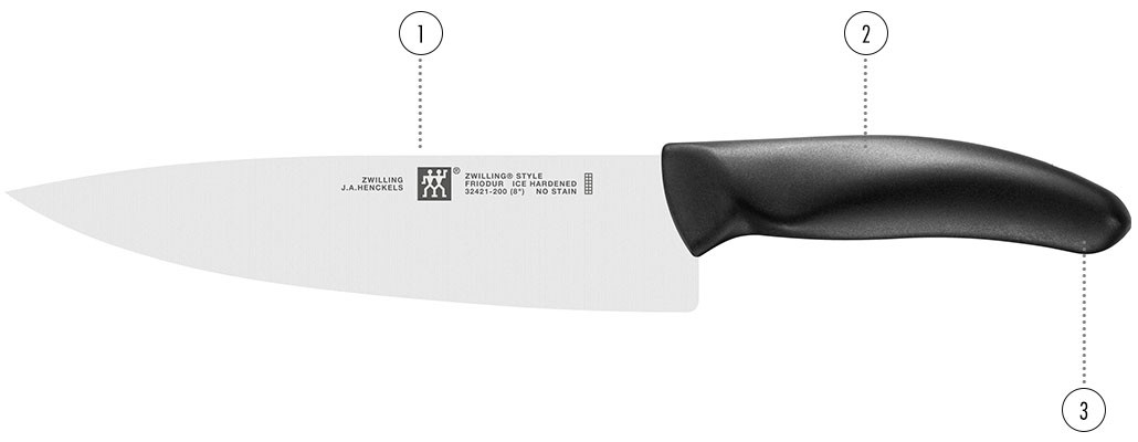 Couteaux - ZWILLING Style détails