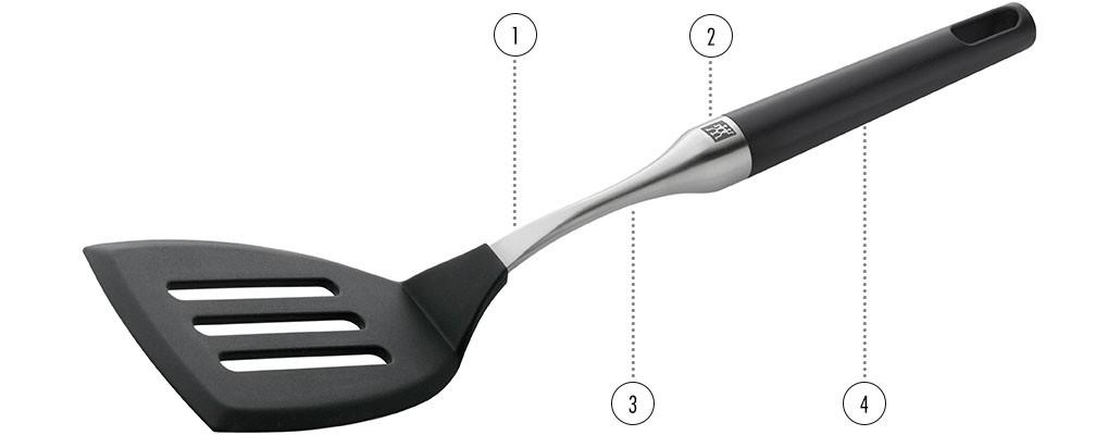 Ustensiles de cuisine - ZWILLING TWIN Pure Black détails