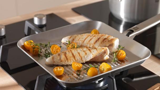 Zwilling Plus grilling pan rectangular