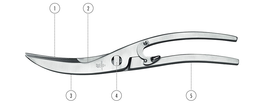 ZWILLING poultry shears details
