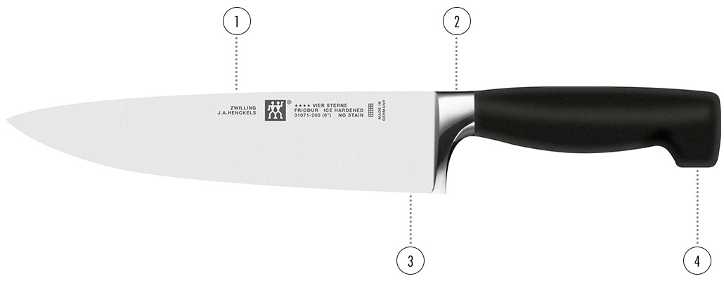 ZWILLING four star details